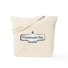 Piedmont Rd. Tote Bag