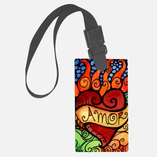 Cool Day of the dead Luggage Tag