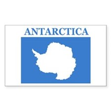 Antarctica Rectangle Decal