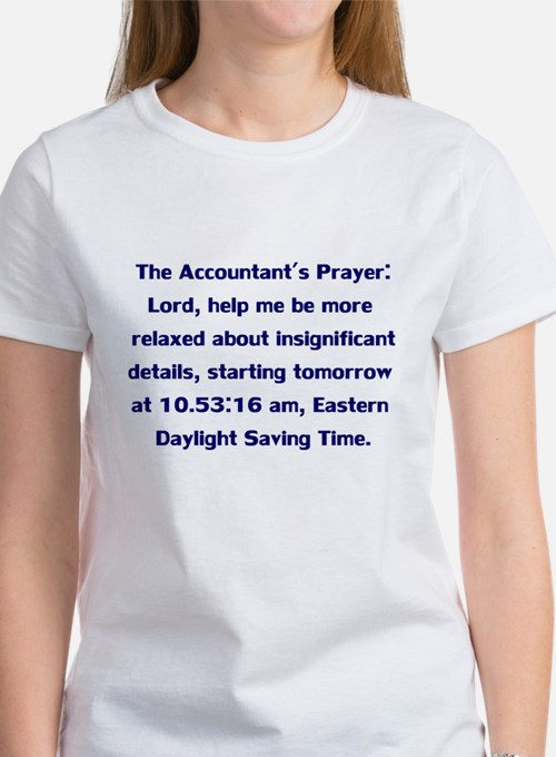 Accountant's Prayer Tee