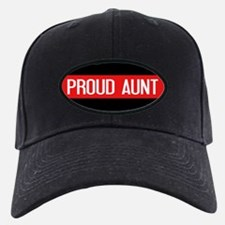 Firefighter: Proud Aunt (Red Line) Baseball Hat