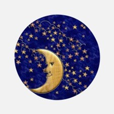 Harvest Moons Man in the Moon Button