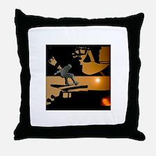 Skate Throw Pillow