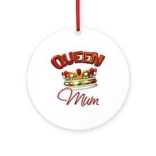 Queen Mum Ornament (Round)