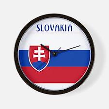 Slovakia Products Wall Clock