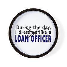 Dress Up Like A Loan Officer Wall Clock