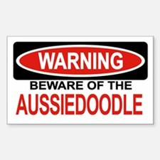 AUSSIEDOODLE Rectangle Decal