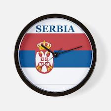 Serbia Products Wall Clock