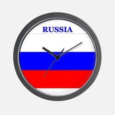 Russia Products Wall Clock
