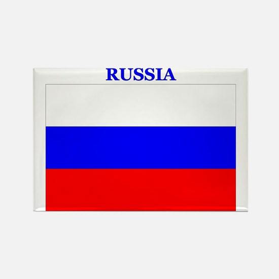 Russia Products Rectangle Magnet
