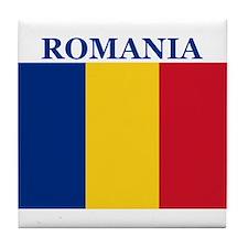 Romania Products Tile Coaster