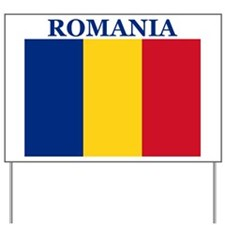 Romania Products Yard Sign
