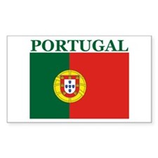 Portugal Products Rectangle Decal