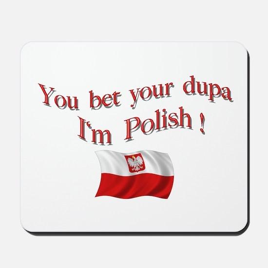 Polish Dupa 3 Mousepad
