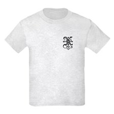 "Gothic ""X"" Initial T-Shirt"