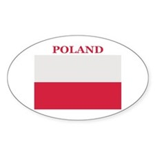 Poland Products Oval Decal