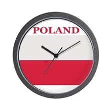 Poland Products Wall Clock