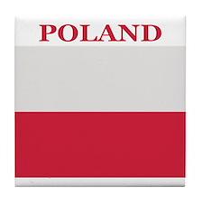 Poland Products Tile Coaster