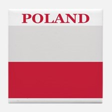 Poland Products Tile Coaster
