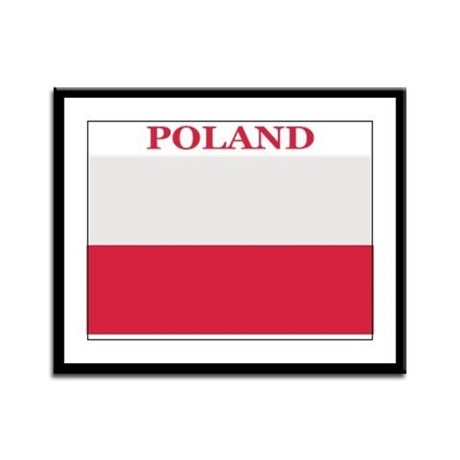 Poland Products Framed Panel Print