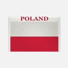 Poland Products Rectangle Magnet