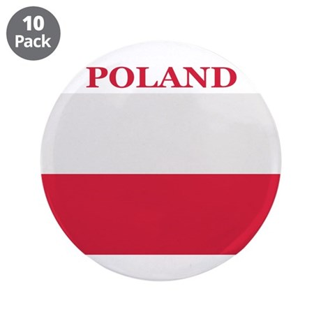 """Poland Products 3.5"""" Button (10 pack)"""
