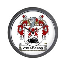 O'Flaherty Coat of Arms Wall Clock