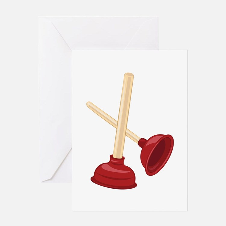 plunger greeting cards card ideas sayings designs templates. Black Bedroom Furniture Sets. Home Design Ideas