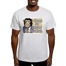 Chimps R Freakin' Excellent Ash Grey T-Shirt