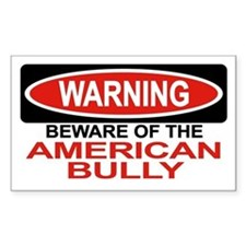 AMERICAN BULLY Rectangle Decal