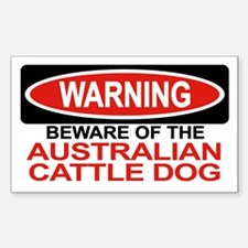 AUSTRALIAN CATTLE DOG Rectangle Decal