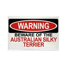 AUSTRALIAN SILKY TERRIER Rectangle Magnet (100 pac