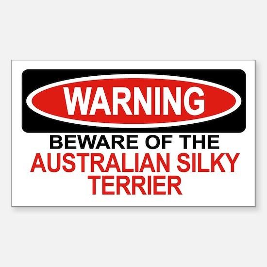 AUSTRALIAN SILKY TERRIER Rectangle Decal