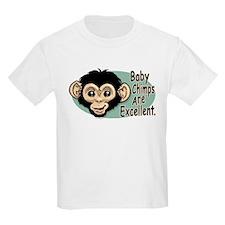 Baby Chimps Kids T-Shirt