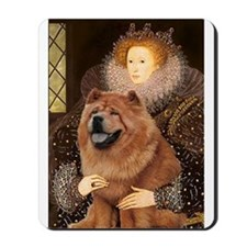 Queen / Chow (red) Mousepad