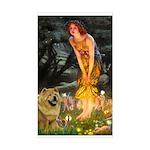 Fairies / Chow #1 Sticker (Rectangle)