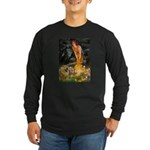 Fairies / Chow #1 Long Sleeve Dark T-Shirt