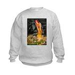 Fairies / Chow #1 Kids Sweatshirt