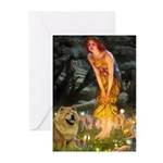 Fairies / Chow #1 Greeting Cards (Pk of 20)