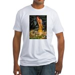 Fairies / Chow #1 Fitted T-Shirt
