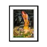 Fairies / Chow #1 Framed Panel Print