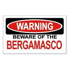 BERGAMASCO Rectangle Decal