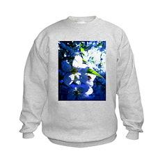 Apple Blossom Blues Sweatshirt