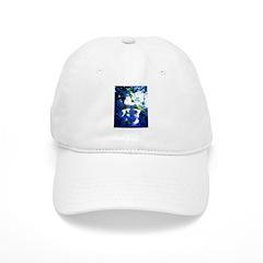 Apple Blossom Blues Baseball Cap