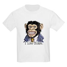 I like Chimps Kids T-Shirt