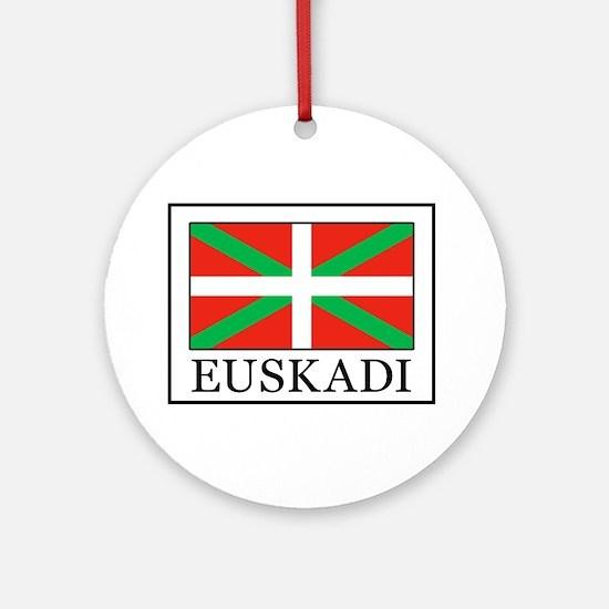 Euskadi Round Ornament