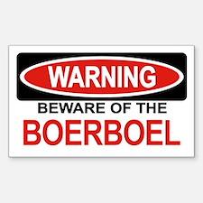 BOERBOEL Rectangle Decal
