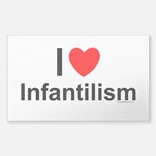 Infantilism Sticker (Rectangle)