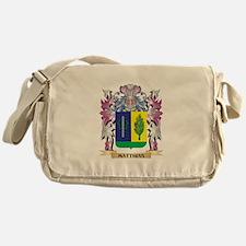 Matthias Coat of Arms - Family Crest Messenger Bag