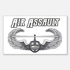Army Air Assault Rectangle Decal